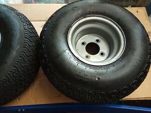 Countax rear wheels