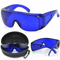Golf Ball Finder Glasses with Blue Tinted Lenses & Carrying Case