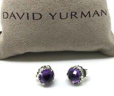 DAVID YURMAN Chatelaine Earrings with Amethyst in Sterling Silver