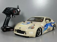 Use Tamiya 1/10 Nissan 370z Body TL01 Chassis 2.4GHz Remote + ESC + LED +Upgrade