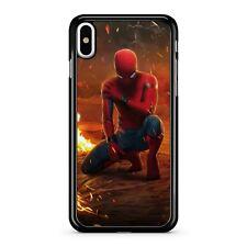 Spider Man plus grands super-héros Marvel Avengers Comic Book Hero Téléphone Étui Housse