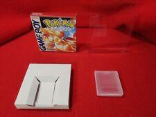 Nintendo Gameboy Pokémon rosso Versione rossa Box Repro + Case + Custodia ITA