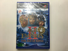 age of empires II the age of kings PS2 sous blister