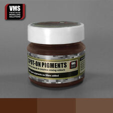 VMS SPOT-ON Pigment No. 09c Track Brown Decomm. 45 ml model weathering powder