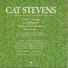 """CAT STEVENS """"THE ULTIMATE SAMPLER FROM THE ULTIMATE COLLECTION"""" PROMO CD -CATCD1"""