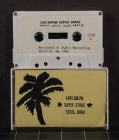 Caribbean Super Stars Steel Band 1986 cassette very rare recorded Seattle WA