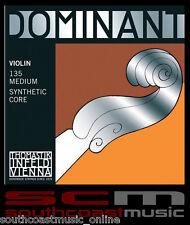 Thomastik-Infeld 4/4 Violin String Set 135 Dominant Synthetic Core Ball End