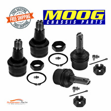 Dodge Suspension Ball Joint Front Lower and Upper Set Moog K8607T, K80026