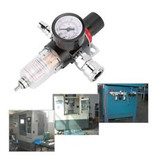 "1/4"" Air Brush Filter Regulator Gauge In Line Compressor Water Moisture Trap"