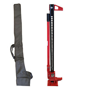 """60"""" FARM JACK with CARRY / STORAGE CASE 4 x 4 offroad tractor off road high lift"""