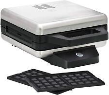 WMF 415420013 Sandwichera con placas Intercambiables 730-870 W 2 niveles ajuste