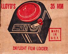 Vintage Lloyd 35mm bulk film loader.