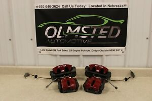 05 06 Pontiac GTO Front Rear Brake Calipers Mounting Brackets Russell Lines Hose