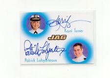 JAG 2006 Dual Autograph JC2 Karri Turner Patrick Labyorteau 133/200 SP