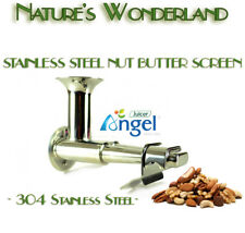NUT BUTTER Screen / Blank Extractor Housing for Grinding - ANGEL Juicer Angelia
