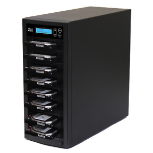 EZ Dupe Pantera 1 to 7 Hard Drive Duplicator & sanitizer / SSD Cloner 150MBps
