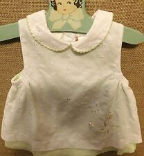 Vintage Little Bitty Baby Girls Dress size 3T #073