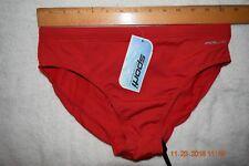 Sporti  swim brief  Red  34   [#0795]