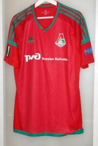 Match worn shirt Lokomotiv Russia Uzbekistan national team vs Fenerbahce