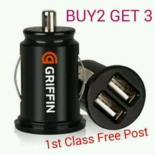 3.1a Universal Car Van Mini Dual USB Twin 2 Port 12V Charger Adapter Lighter - G