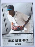 """JULIO RODRIGUEZ 2018 LEAF """"SILVER EDITION"""" ROOKIE CARD! SEATTLE MARINERS!"""