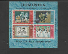 DOMINICA #296a  1970   NEIL ARMSTRONG    VF  LH  N.G  UNUSED S/S CTO