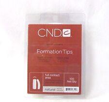 CND Creative Nail Tips FORMATION NATURAL 100ct/tray