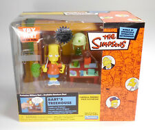THE SIMPSONS BART'S TREEHOUSE INTERACTIVE Environmental playset