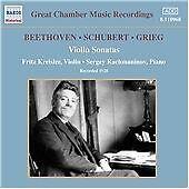 Beethoven / Schubert / Grieg: Violin Sonatas, , Very Good CD