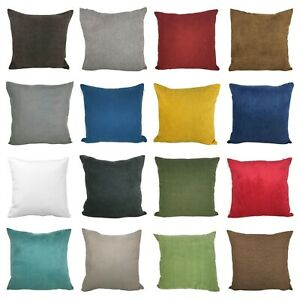 """Plain Cushion Covers - High Quality Material and Zips - 18x18"""""""