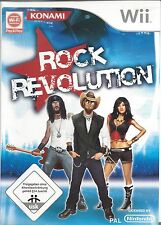 ROCK REVOLUTION for Nintendo Wii - with box and manual - German - Deutsch