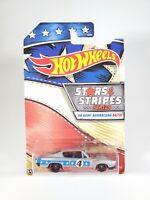 Hot Wheels - Stars & Stripes Series - Silver '68 HEMI BARRACUDA - NEW NOC