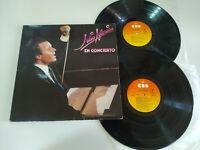 """Julio iglesias IN / Auf / Im concierto 1983 CBS - 2 X LP Vinyl 12 """" VG/VG 2T"""