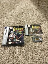 Castlevania: Circle of the Moon (Game Boy Advance, 2001) Complete w Box & Manual