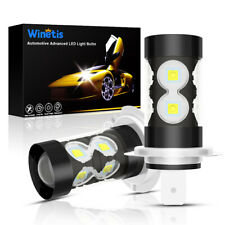 For Audi A3 A4 A5 A6 Q5 Q7 TT Super White H7 LED Headlight High Beam Bulbs 50W