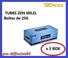 ZEN MILD - 1250 TUBES à Cigarettes 100mm avec Filtre. (5 Boîtes de 250 Tubes)