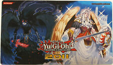 Yugioh 2011 Judge Playmat Tiras Keeper of Genesis & Adreus Keeper of Armageddon
