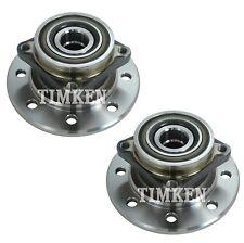 Pair Set 2 Front Timken Wheel Bearing Hub Kit for Dodge Ram 3500 4WD 2Wheel ABS