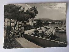 Sanary-sur-Mer  France Vintage B&W Postcard  c1960 Le Chemin de l'Oratoire