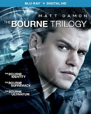 The Bourne Identity Supremacy Ultimatum All Blu-Ray Trilogy Set Collection Lot 3