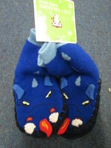 Cozy Creatures Snake Slipper socks NWT SIZE 4