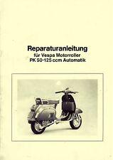 VESPA Reparaturanleitung PK 50-125 Automatica - Handbuch Anleitung Automatik XL