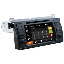AUTORADIO Touch BMW E46 Navigatore Gps Comandi Volante Mp3 Bluetooth