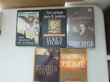 Lot of 5 Large Print Fiction/Historical Novels, Various Titles and Authors