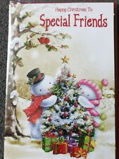 HAPPY CHRISTMAS TO SPECIAL FRIENDS CHRISTMAS CARD