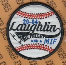 """USAF Air Force LAUGHLIN 20-04 Flight Training Sq FTS 3.5"""" patch w/ Hook m/e"""