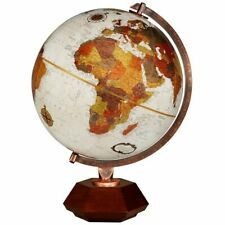 "Replogle HEXHEDRA 12"" Inch Globe Frank Lloyd Wright Home Office Desk Decor Gift"