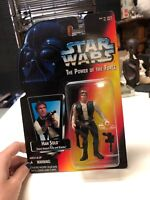 Star Wars Power of the Force Han Solo MOC Action Figure 1995 POTF Kenner Sealed