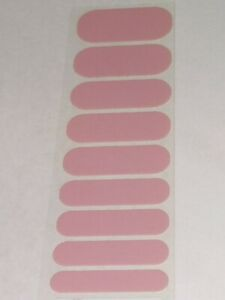 Jamberry DAYDREAM Half OR Full Sheet Solid Nail Wraps Pink Neutral DAY DREAM 1/2