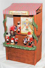 Byers Choice Nutcracker Market Stall - New - Free Shipping